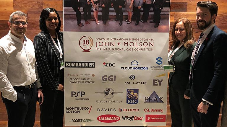 38th Annual John Molson International Case Competition in Montreal