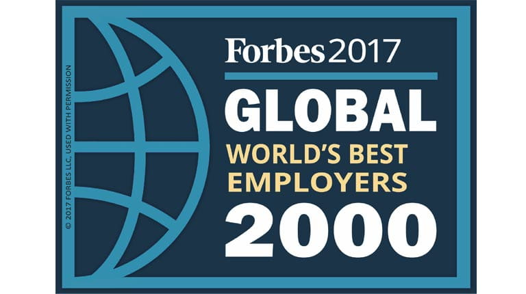 Forbes Top 50 Wordlwide